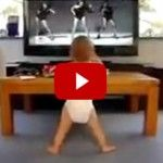 Calling all the single ladies! This little baby loves some Beyoncé—check out  his moves to her infectious hit!