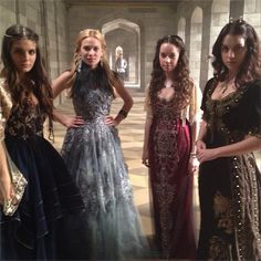 CW reign costumes | reigncostumes : A look at what's to come… #thefiercefour # ...
