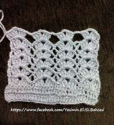Yeşim'in El iSi Bahcesi: tığ işi yelek modeli anlatımlı yapılış Lace Patterns, Crochet Patterns, Crotchet Stitches, Crochet Lace, Elsa, Embroidery, Blanket, Aurora, Mandala