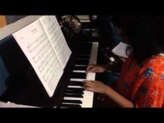 Aug Aisya rehearsed Grade 1 ABRSM Piano Exam piece March from Detskaya tetrad, Op. 69 composed by Dmitry Shostakovich Dmitri Shostakovich, Plays, March, Daughter, Music, Games, Musica, Musik, Music Games
