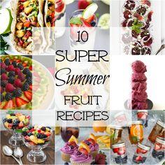 10 super Summer fruit recipes