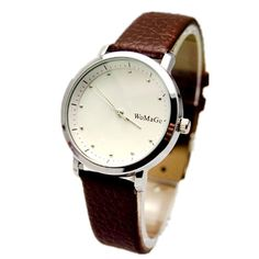 >> Click to Buy << New Men Business Simple Dial 5 Colors Leather Band Wristwatch Woman Luxury Silver Case Ladies Fashion Casual Quartz Watch hot #Affiliate