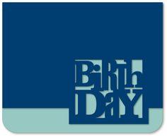 {FREE Cut File} Birthday card - Kerri Bradford Studio