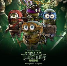 Teenage Mutant Ninja Turtle Minions are coming!