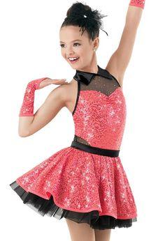 Weissman™ | Sequin Foil Mesh Satin Tricot Dress