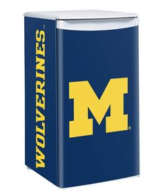 Love this Michigan Wolverines Counter Height Fridge on #zulily! #zulilyfinds