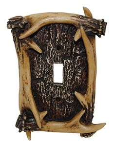 HiEnd Accents Rustic Antler Single Switch * Read more reviews of the product by visiting the link on the image. Note:It is Affiliate Link to Amazon.