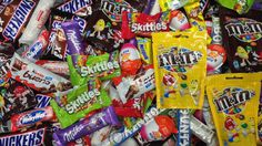 NEW! A Lot Of  M&M's and Skittles