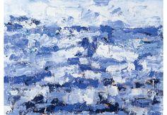 Jan Cremer Schilder van de Zee Indigo Prints, Love Art, Strand