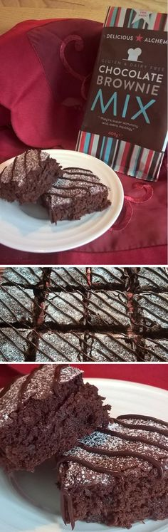 "WEEK 6: Glutarama on Twitter: ""Been busy with Beetroot @4GlutenFreeFood #GFMBO Squidgy Chocolate Brownies with beetroot #glutenfree"" - Glutarama"