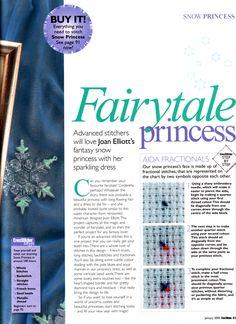 Fairytale Princess (Joan Elliott) From Cross Stitcher N°156 January 2005 2 of 5