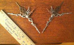 Clock Hand Hair Pins