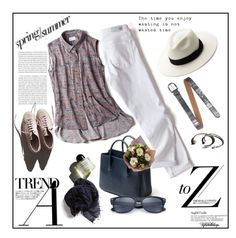 """""""Spring/Summer Leisurewear/My Style"""" by eyesondesign ❤ liked on Polyvore featuring Garance Doré and Fausto Colato"""