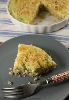Receita de gratinado de quinua e abobrinha, que tanto pode ser um acompanhamento de outros pratos ou um lanche no final do dia.