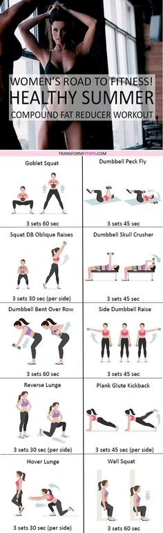Full Body workouts to tone and tighten and lose weight fast and easy!