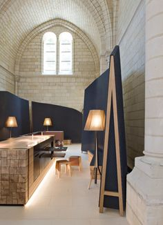 Fontevraud, a new 54-room hotel in a Loire Valley abbey