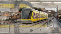 New Porto Light Rail Trains And Extension For 2023 Revealed - Distrita Rail Train, Train System, Climate Action, Light Rail, Rolling Stock, A Year Ago, How To Make Light, Public Transport, New Construction