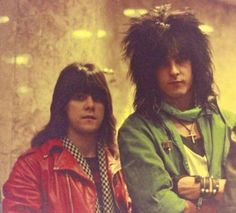 Nikki Sixx early 80's