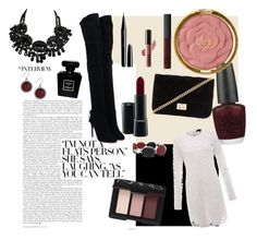 Untitled #4 by camryn18 on Polyvore featuring polyvore, fashion, style, Rachel Zoe, Aquazzura, Forever 21, Lucky Brand, Chico's, Milani, NARS Cosmetics, MAC Cosmetics, Marc Jacobs, LORAC, Chanel and OPI
