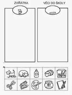 Z internetu – Sisa Stipa – Webová alba Picasa Indoor Activities For Kids, Kids Learning Activities, Preschool Worksheets, Kids Education, Special Education, Family Worksheet, Word Families, Baby Time, Pre School