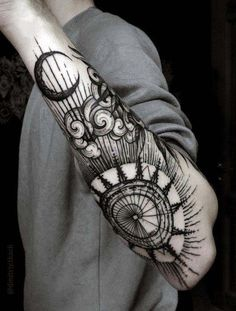 best collection of Forearm Sleeve Tattoo