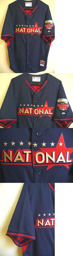 Baseball-MLB 24410: Mlb Majestic Cool Base 2014 All-Stars Game National Baseball Jersey Size 48 (Xl) -> BUY IT NOW ONLY: $44.95 on eBay!