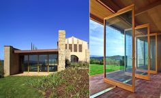 Wooden Windows & Doors Frames #architecture #design #wood #frames #doors #windows #light #house