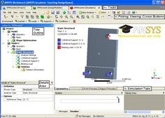 ANSYS Mechanical Workbench   ANSYS Design Space Design Modeler (DM) is a component of ANSYS workbench. A cad like parametric modeler with analysis modeling goals: 2D, 3D, Line and Surface modeling capability Performs unique geometry modification
