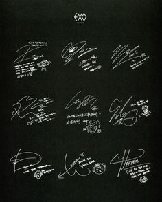 EXO - 160123 2016 Season's Greetings official calendar, Chinese version - [SCAN][HQ] Credit: 올리브. Lightstick Exo, Chanyeol Baekhyun, Kpop Exo, K Pop, Exo Sign, Exo For Life, Exo Album, Exo Fan Art, Exo Lockscreen