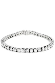 bb4a568600cd Majesty Diamonds 5.15 ct Diamond Tennis Bracelet In 14k White Gold Diamond  Bracelets