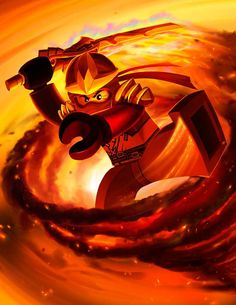 LEGO Ninjago, Kai, Ninja of Fire
