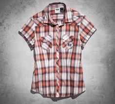 Women's Horizon Plaid Shirt  LOVE LOVE LOVE IT!
