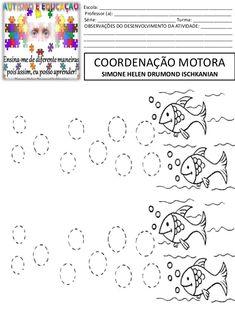 atividades de coordenação motora grossa peixinhos