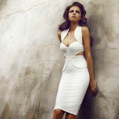 Fashion for ladies 2014 mini white dress | Fashion World