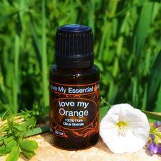 """Love My Orange"" 100% Pure Essential Oil"