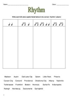 Music Worksheets | Free music theory worksheets for music teachers ...