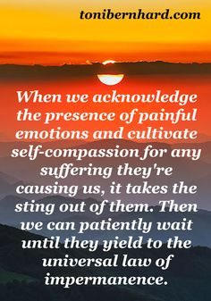 Acknowledge the presence of painful emotions and cultivate self-compassion.... #Pittsburgh #therapy  www.facebook.com/sw.thelovingchoice