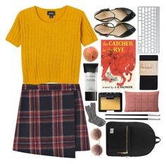 """""""round and round like a horse on a carousel, we go,"""" by deep-breaths ❤ liked on Polyvore featuring Monki, Linda Farrow, Smashbox, Pavilion Broadway, Muuto, NARS Cosmetics, Herschel Supply Co., J.Crew, Christofle and rosedoessimple"""