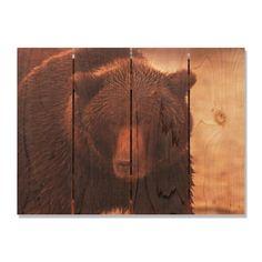 Big Bear 22.5x16 Indoor/ Outdoor Full Color Wall Art