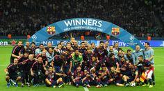 FC Barcelona (ESP) - Champion of UCL 2015