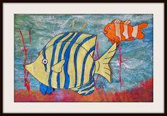 MaryMaking: Multi-Media Tropical Fish
