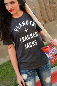 Peanuts and Cracker Jacks Tee