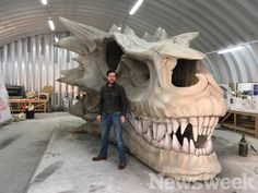 Exclusive: How 'Game of Thrones' created that incredible Balerion skull in 'Stormborn'