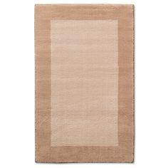 Border Rug - Pillowfort, Tan