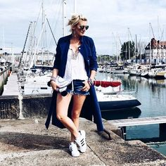 Deauville ✔ Look du jour ☺ - Bon lundi   Ootd - Good Monday  . #fashion #fashionblogger #blogger #littlebohoblog #boho #blogueuse #mode #gypset #ootd #outfit #look #style #sneakers #sneaker #trip #holiday #travel #travelblogger #vacances