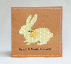clean & simple easterbunny card   by Anski