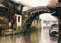 Painted by Chen Yifei