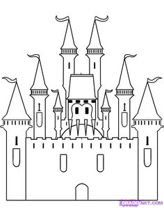 1000 Ideas About Castle Drawing On Pinterest Art Oil