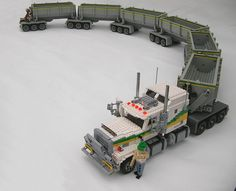 Road Train B | by Lego Monster