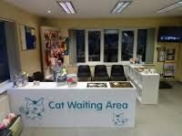Image result for feline cat friendly waiting room